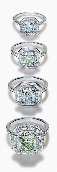 Tiffany's colored diamonds are among the rarest in the world.