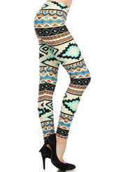 Super Comfy Tribal Print Leggings. $12 Free Shipping many more colors. www.rhinestonesnrodeo.com