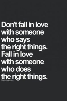 Fall in love. When it's true it is indescribable