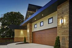 For Subtle Beauty And Simple Upkeep, Choose The Modern Steel Collection Of Garage  Doors.