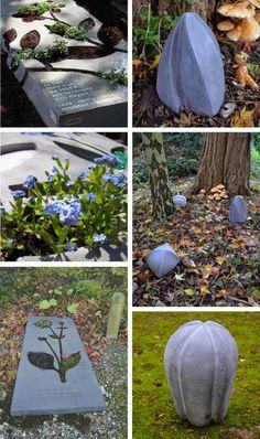 De kunst van het Afscheid: Monumentalista - Ine Mulder Grave Flowers, Funeral, Van, Memories, Outdoor Decor, Business Ideas, Concrete, Letters, Modern