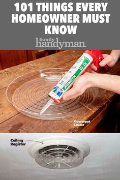 101 Things Every Homeowner Must Know – Home Maintenance Diy Home Crafts, Diy Crafts To Sell, Home Craft Ideas, Decor Ideas, Jar Crafts, 1000 Lifehacks, Home Fix, Ideas Para Organizar, Diy Home Repair