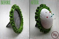 frame pincushion