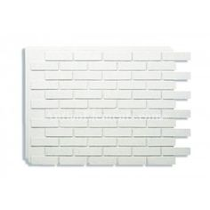Villa Panel - Faux Bricks - White