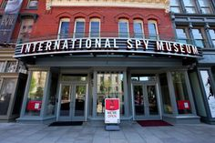 The International Spy Museum showcases more than 200 gadgets, weapons, bugs, cameras and technologies used for espionage throughout the world.