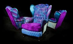 recycled fabric furniture - Google Search