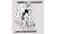 """Charlie Hebdo, Cabu avait """"croqué"""" l'accessibilité"""