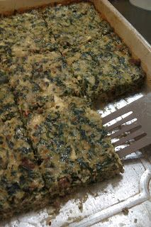 THM (S) Spinach Cheese Bake - also freezes well (and hubby loves leftovers for breakfast! Spinach Casserole, Spinach Quiche, Spinach And Cheese, Spinach Egg, Spinach Bake, Cheese Quiche, Spinach Recipes, Low Carb Recipes, Diet Recipes