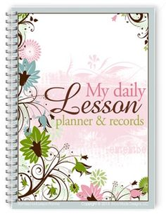 Homeschooling Planner to print FREE ARROWS Under Specials - Religious....