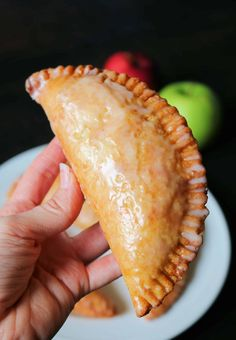 There's nothing better than Southern Fried Apple Pies in the Fall! Check out my Best Fried Apple Pies Recipe that's made completely homemade from scratch! These old fashioned Amish-Style Fried Apple Hand Pies are so easy and delicious with a tender, flaky, and buttery pie crust, a cinnamon sugar apple pie filling, and a sweet powdered sugar glaze. #friedapplepies #applepie #falldesserts Homemade Apple Pie Filling, Homemade Pie, Fried Apple Pie Filling Recipe, Fried Apples Recipe Easy, Old Fashioned Fried Apple Pies Recipe, Amish Fried Pies Recipe, Hand Pie Crust Recipe, Easy Apple Pie Recipe, Crunch Recipe