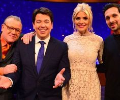 Holly Willoughby dress on Michael McIntyre show