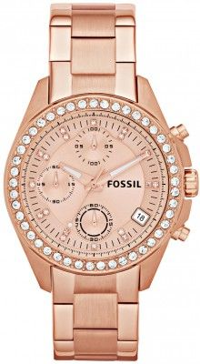 Fossil FES3352 rose gold woman watch