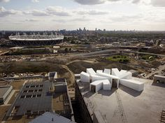 Studio East Dining over looking london olympic park