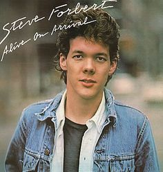"""""""Alive On Arrival"""" (1978, Nemperor) by Steve Forbert.  His first LP."""