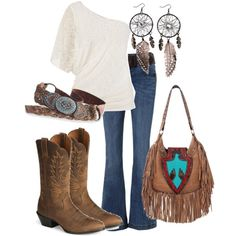 New western boats outfit fashion country girls ideas Country Style Outfits, Country Girl Style, Country Fashion, My Style, Country Chic, Country Life, Southern Outfits, Country Wear, Estilo Cowgirl