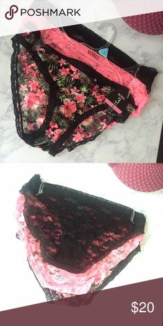 Brand new  XOXO 3 pack super cute lace panties They are lace everywhere besides where it shouldn't be  material feel super good on skin. Awesome for hot summer days  very lightweight and breathable ! XOXO Intimates & Sleepwear Panties
