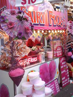 Fairy Floss --> What they call Cotton Candy in Australia, doing-the-happy-dance-for-sure!!