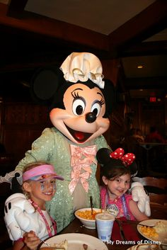 Minnie Mouse at the Liberty Tree Tavern....this cannot be a coincidense!