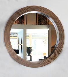 Round Brass Mirror | BLACKMAN CRUZ by, Damian Jones