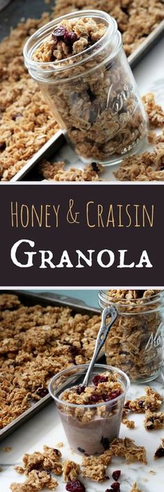 Homemade Granola , Recipe Treasures