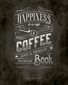 Coffee | Typography by Tomasz Biernat, via Behance