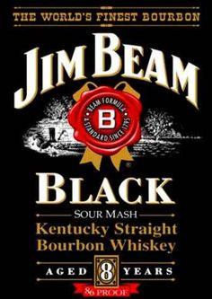 8267 - BEBIDAS - WHISKY - JIM BEAM BLACK - Aged 8 years - 29x41-