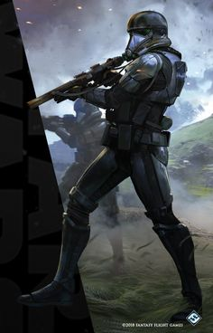 Gallery page for Imperial Death Trooper. Star Wars Characters Pictures, Star Wars Pictures, Star Wars Images, Star Wars Concept Art, Star Wars Fan Art, Star Wars Rpg, Star Wars Clone Wars, Star Wars Canon, Star Wars The Old