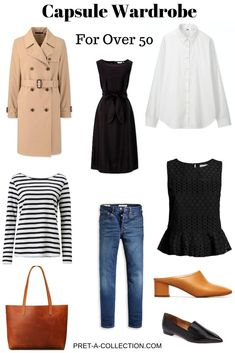 Capsule Wardrobe: For Over 50 - Pret-a-Collection Recently my mum stayed with us for a few weeks and that inspired me to write a post to help ladies with older kids to stay stylish. You have a career in place Casual Summer Dresses, Casual Dresses For Women, Casual Outfits, Clothes For Women, Capsule Wardrobe Women, Fashion Capsule, Over 50 Womens Fashion, Fashion Over 50, Mode Outfits