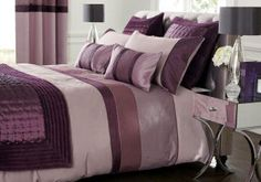 Buy Plum Quilted Panel Bed Set from the Next UK online shop