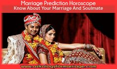 Marriage Prediction Horoscope - Why Use Horoscope Matching For Marriage To Know About Your Marriage and Soulmate? The Horoscope matching is a very important process before a boy marries a girl. Through horoscope matching, the transition of there individual life into a family life (also known as Grahastha Jeevan in India) is studied.     These days this process is more important as the human nature is being more unpredictable and the marriages are breaking more than the earlier time.  With the ever changing environment and the behavior of the society the success rate of the marriages has dramatically reduced... Keep Reading: http://www.astrologyformarriage.com/marriage-prediction-horoscope/