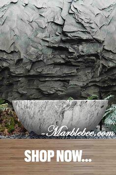 Customized stone bathtub