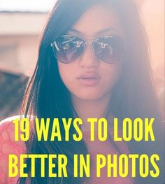 19 Foolproof Beauty Tricks That Will Make You Look Instantly Better in Photos - You know that moment when you annoyingly ask whoever is taking a picture to retake it because you don't like how you look in it? That will no longer be you, thanks to these tips from a top makeup artist and photographer that'll help make you more photogenic in a flash.