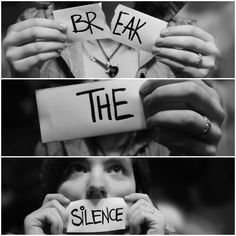 Break the Silence #Voice #BeHeard... Silence Breeds Violence...Say Something...Get help & Get Out  National Domestic Violence Hotline 24/7 hotline at 1-800-799-SAFE (7233)
