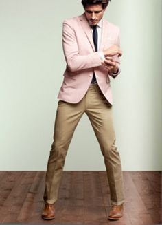 Pink and Khaki for Spring