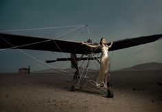 First Lady of Flight  January 2007 Photographed by Annie Leibovitz