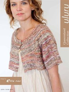 Free Q1026 Uluru Capelette Pattern  E, this would look perfect on you!