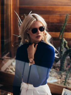 Becca Hiller for Komono by Aaron Feaver