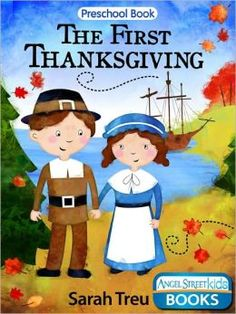 Cute ebook for young kids about the first Thanksgiving
