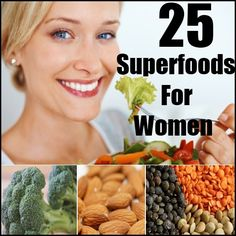 Top 25 Superfoods For Women