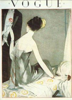Vogue magazine cover 1923