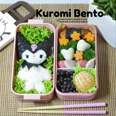 レシピとお料理がひらめくSnapDish - 32件のもぐもぐ - Kuromi Bento by Karenwee's Bento Diary