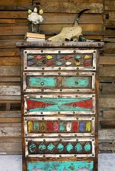 Image result for Colorful Mexican Furniture