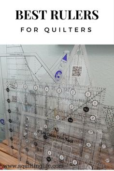 All you need to know about basic rulers every quilter needs along with details on specialty quilt rulers.