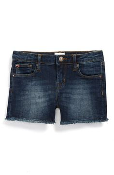 Toddler Girl's Hudson Kids 'Fray' Shorts