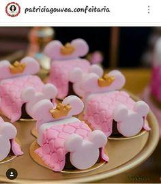 Bolo Minnie, Baby Shower Niño, Polymer Clay Crafts, Oreos, Rice Krispies, Macarons, Chocolates, Fondant, Mickey Mouse