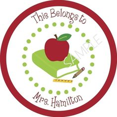 Teacher Gift Sticker by simplysweetness on Etsy, $6.00