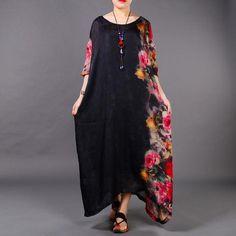 Rose Side Garden Silk Dress – Eva Trends