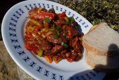 Játrová směs se zeleninou Beef, Recipes, Food, Meat, Essen, Meals, Ripped Recipes, Yemek, Eten