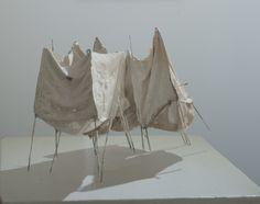 Leonie Gill,plaster,cloth,wax and steel 2013