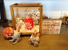 These little cardinals will be the cutest #Winter decor in your home! Find them at Georgian #Christmas! | www.georgianchristmas.ca